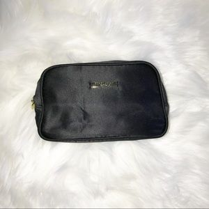 Giorgio Armani Bags - Giorgio Armani black satin cosmetic makeup bag